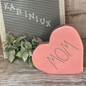 Rae Dunn mom ceramic heart